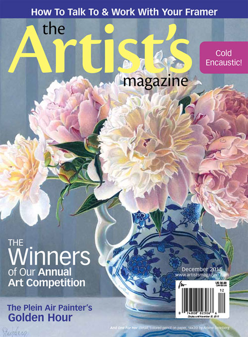 The Artist's Magazine Cover